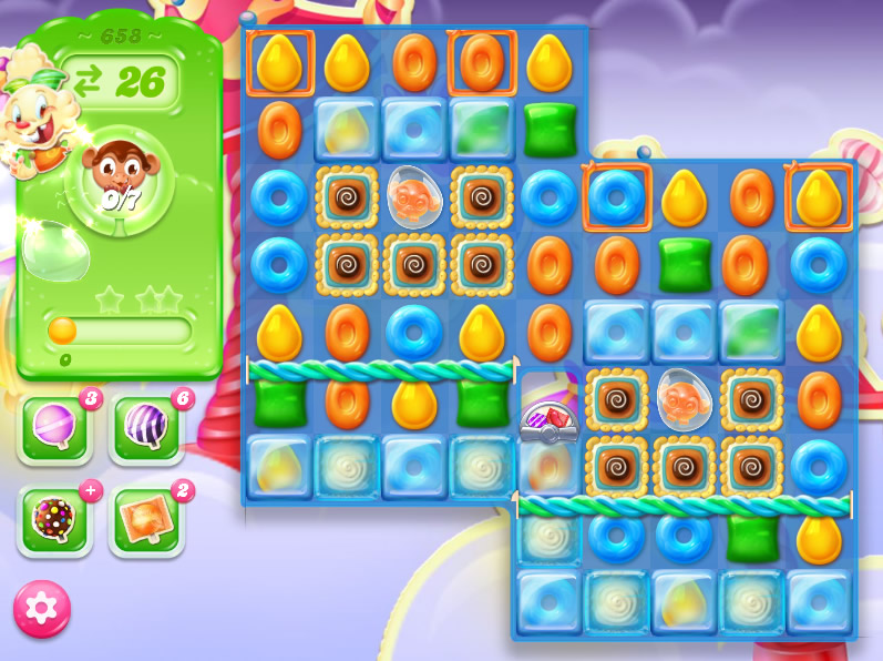 Candy Crush Jelly Saga level 658