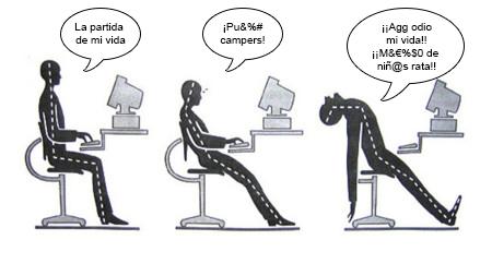 posturas gaming