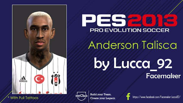 Anderson Talisca Face PES 2013