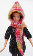 hooded scarf-free crochet pattern