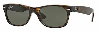 The Ray Ban 'New Wayfarer' Sunglasses are a great gift idea for the man who likes to be noticed.