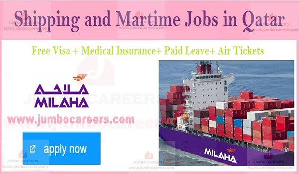 Latest shipping company jobs in Qatar, Qatar jobs with salary and benefits,
