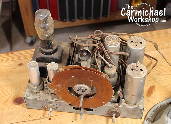 1937 Philco 37-60 Radio Bluetooth Speaker
