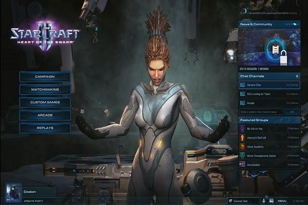 Starcraft 2 CD Keys