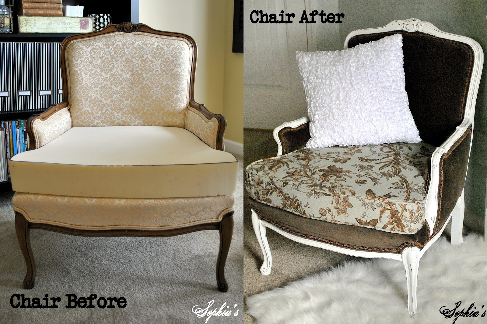 Sophia S Thrift Chairs Makeover