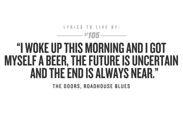 Lyrics To Roadhouse Blues