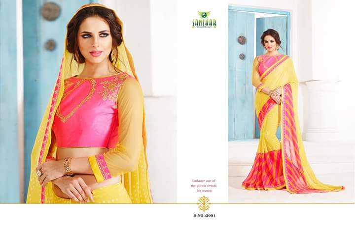 Culture – Latest New Stylish And Fancy Designer Saree