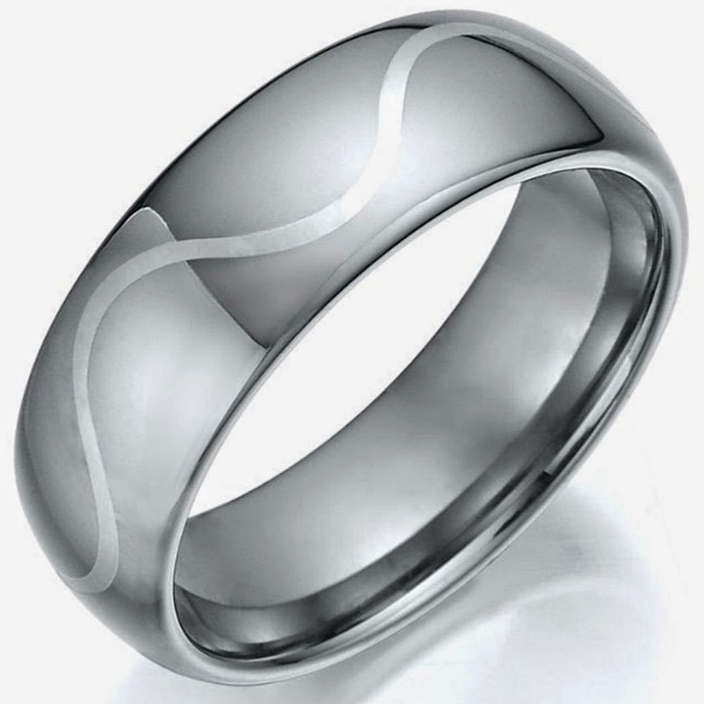 Cheap Silver Wedding Rings For Men Model