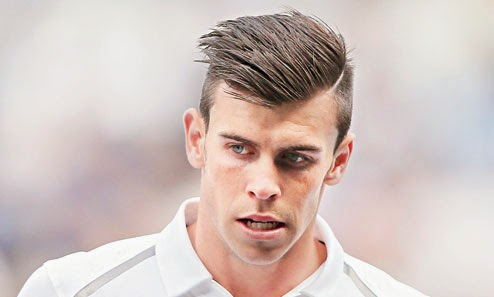 Best Hairstyles Of World Gareth Bale Men Footballer Haircut And Hair Styling Tutorial