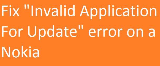 invalid input