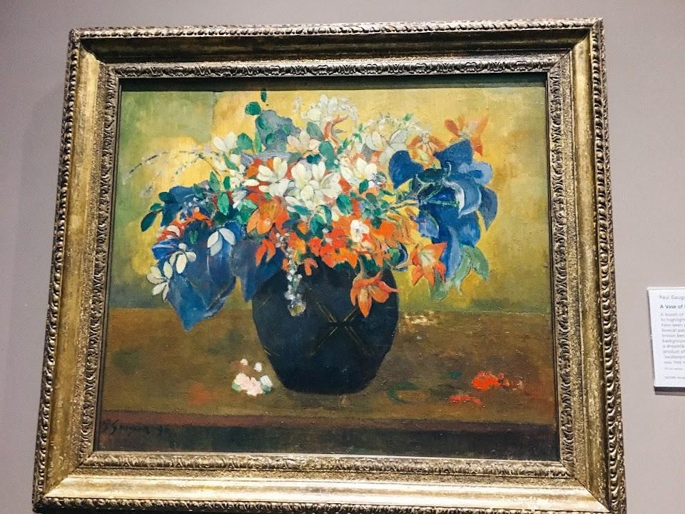 花瓶の花(A Vase of Flowers)1896年