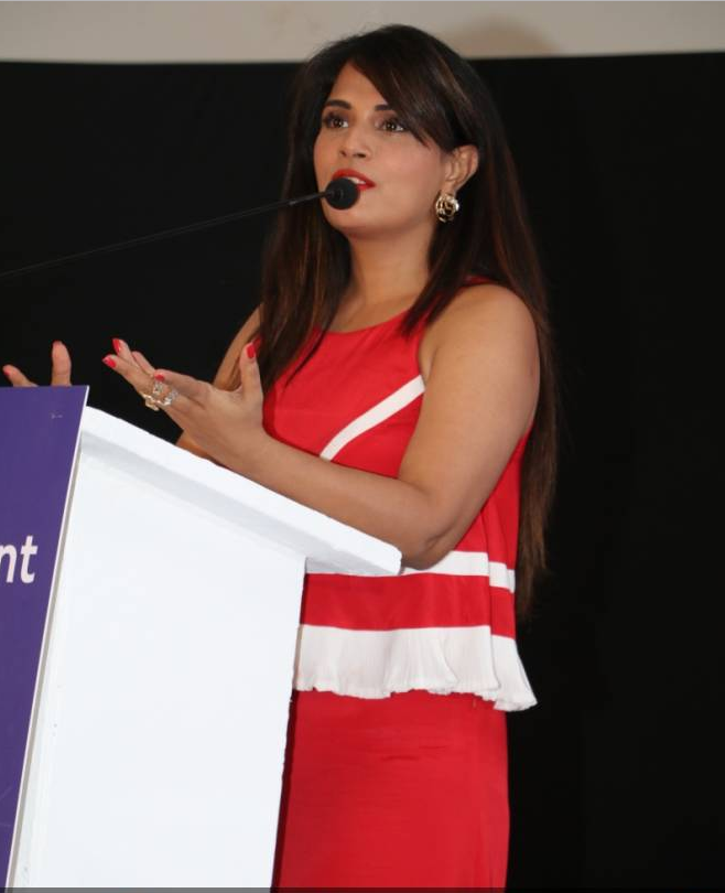 Richa Chadda During Edutainment Show Stills