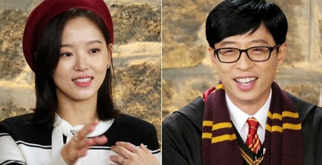 La actriz Kang Han Na habló sobre su amor por Yoo Jae Suk