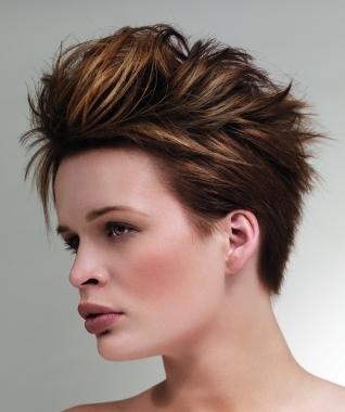 Hairstyle Dreams Mohawk haircuts for Women 2012