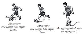 Menggiring Bola / Dribbling