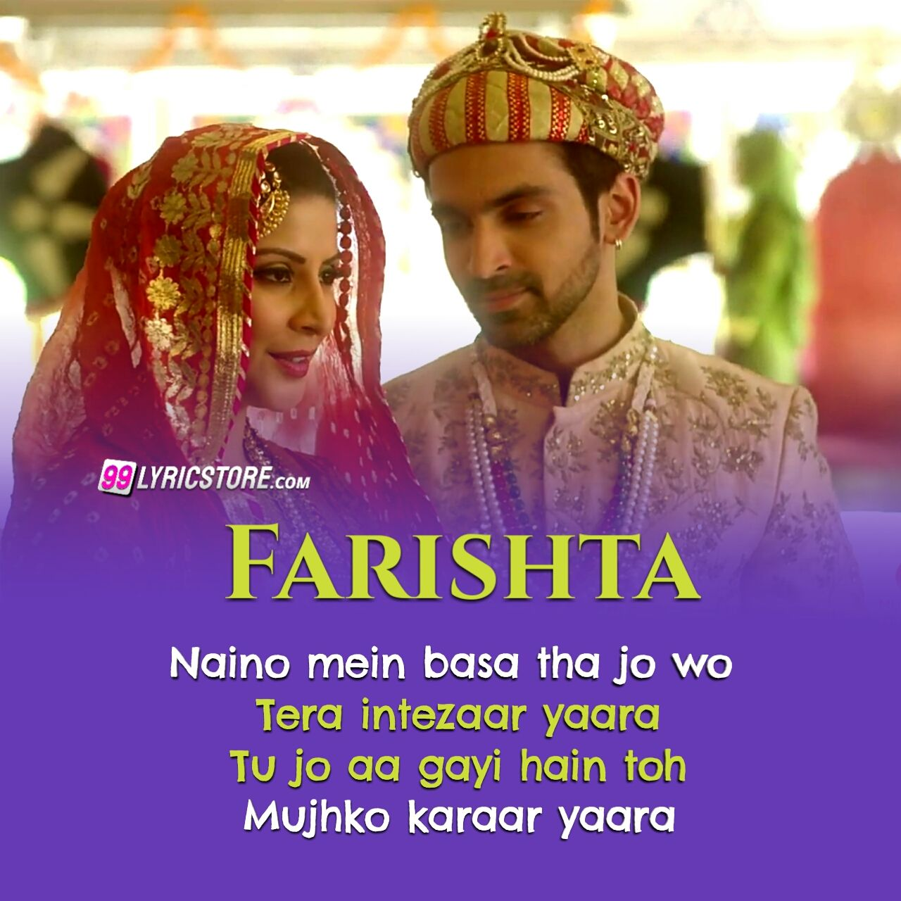 Farishta Hindi love song lyrics sung by Asees Kaur and Arko