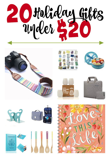 20 Holiday Gifts Under $20...the budget friendly Christmas shopping list of the season!  Your essentaial gift giving guide for men, women, teenagers and friends! (sweetandsavoryfood.com)