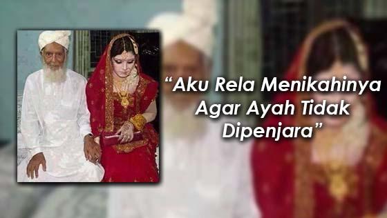 Pengorbanan Seorang Gadis Berkahwin Dengan Orang Tua Demi Melangsaikan Hutang Bapanya
