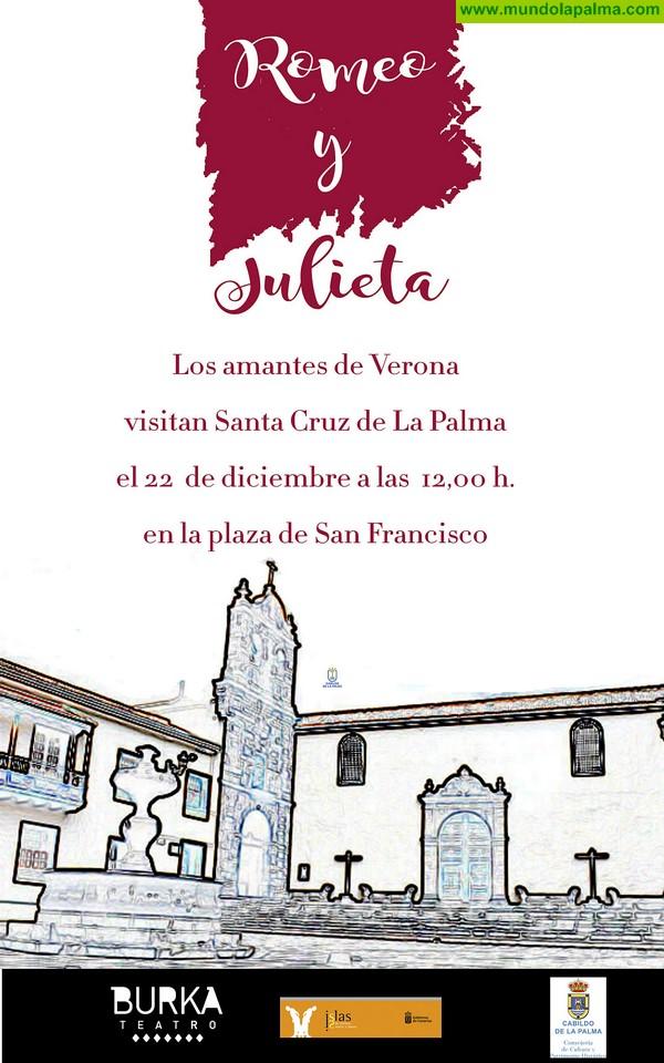 Romeo y Julieta visitan este sábado La Palma y ponen en valor el patrimonio histórico de la capital