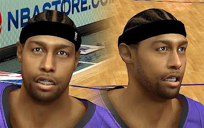 NBA 2K13 James Johnson Cyberface Patch
