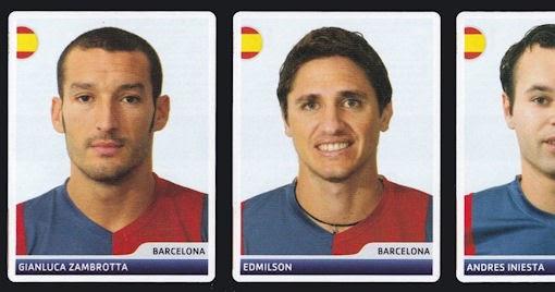 Panini Marcelo Zalayeta Sticker 378 Champions League 2006//07