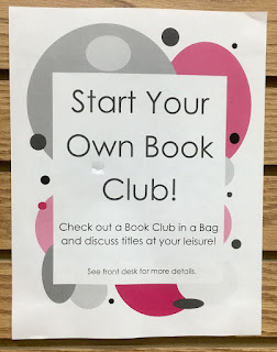 Start your Own Book Club (sign)