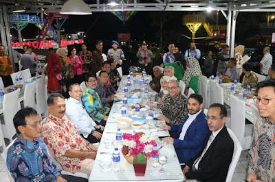 Pemprov Lampung Jamu Dubes Timur Tengah dalam Makan Malam Perpisahan di Puncak Mas