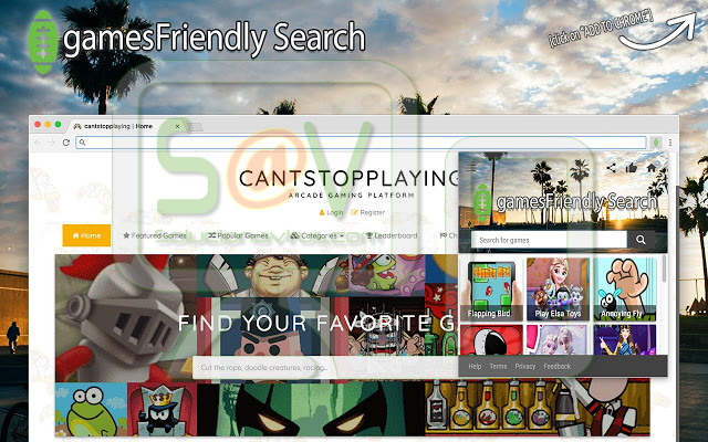 GamesFriendly Search