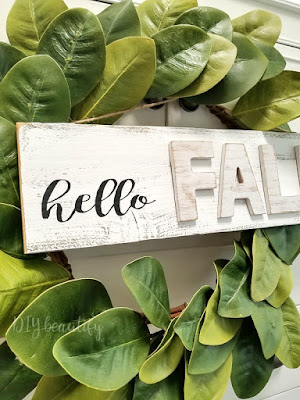 easy shabby farmhouse sign