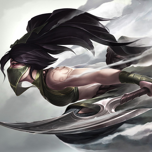 Akali - Smoke Wallpaper Engine