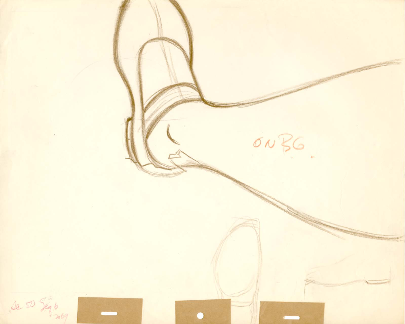 Alice's Leg Background Layout Drawing