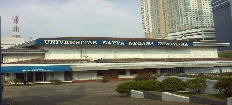 PENERIMAAN MAHASISWA BARU (USNI) UNIVERSITAS SATYA NEGARA INDONESIA