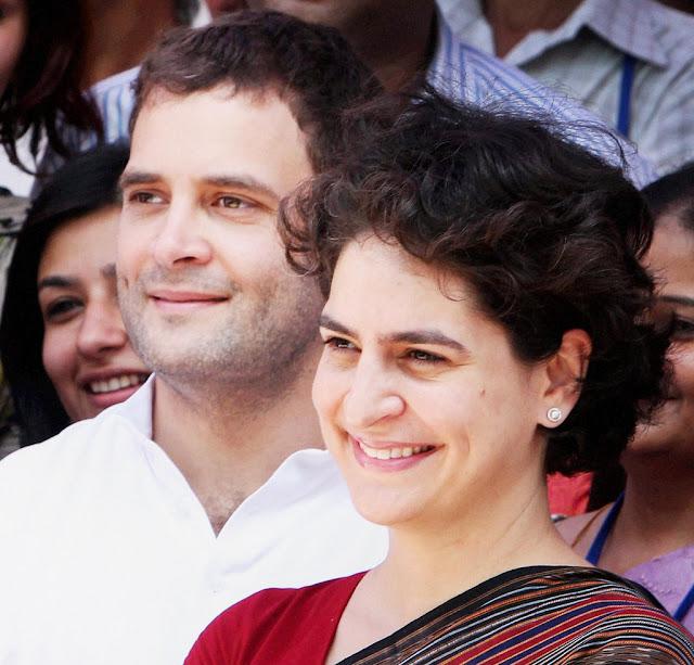 अब आप ही मनाएं प्रियंका को राजनीति में आने के लिए : राहुल