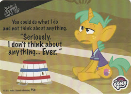 MLP I Don'T Think Abou Anything Series 4 Trading Card