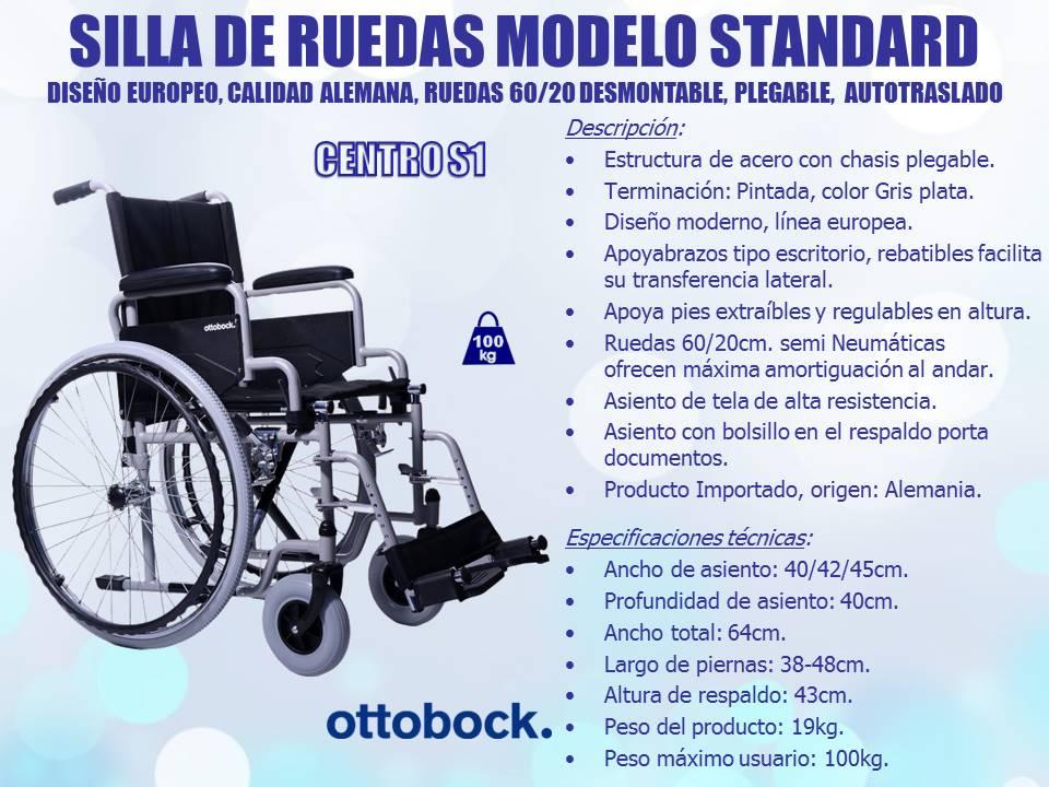 Sillas de ruedas ortopedia beraca 011 2008 8707 sillas de acero ottobock - Sillas de ruedas estrechas ...