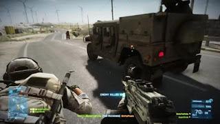 Spesifikasi PC Untuk Battlefield 3Cerita fiksi game ini berseting di tahun 2014, dimana sersan Blackburn memimpin anggotanya dalam misi mencari, menemukan, dan mengamankan kembali hasil investigasi pasukan AS atas  senjata kimia berbahaya yang dimiliki oleh PLR yang dipimpin oleh Solomon. Alur cerita Battlefield 3 diceritakan dengan style flashback dari sebuah ruangan interogasi CIA. Mereka sedang menginterogasi sersan Blackburn dan dia pun menceritakan kembali misi-misinya yang dituangkan kedalam misi permainan yang akan kita mainkan. style penceritaan tersebut seperti halnya yang terdapat pada game Call of Duty Black Ops. Spesifikasi PC Minimal