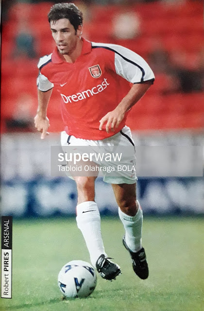 PIN UP ROBERT PIRES (ARSENAL)