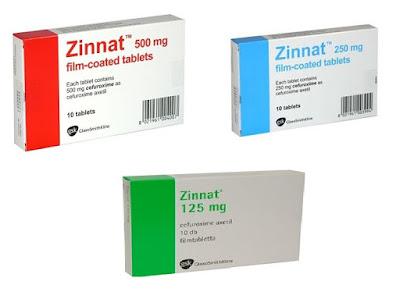 Thuốc kháng sinh Zinnat