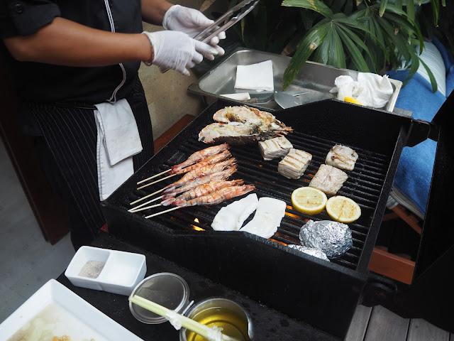 seminyak seafood BBQ