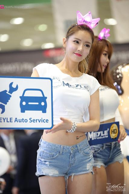 3 Yu Jin - Seoul Auto Salon - very cute asian girl-girlcute4u.blogspot.com