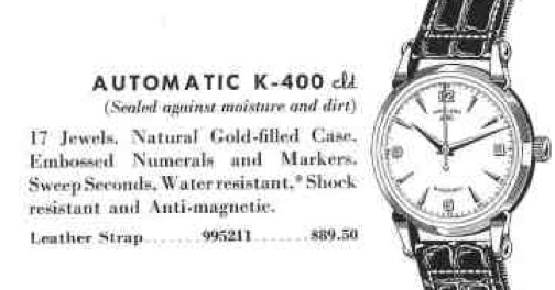 Vintage Hamilton Watch Restoration: 1954 K-400 Automatic