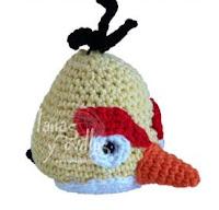 Patron Angry Birds Amigurumi : ANGRY BIRDS PATRONES AMIGURUMI