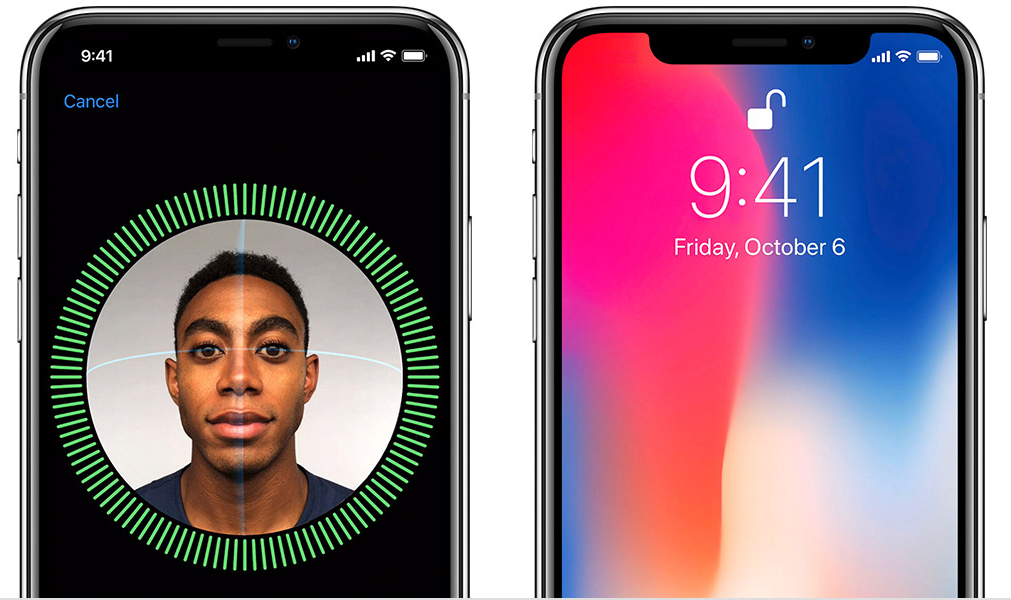 كيف يمكن فتح هاتف ايفون iphone x عن طريق الوجه