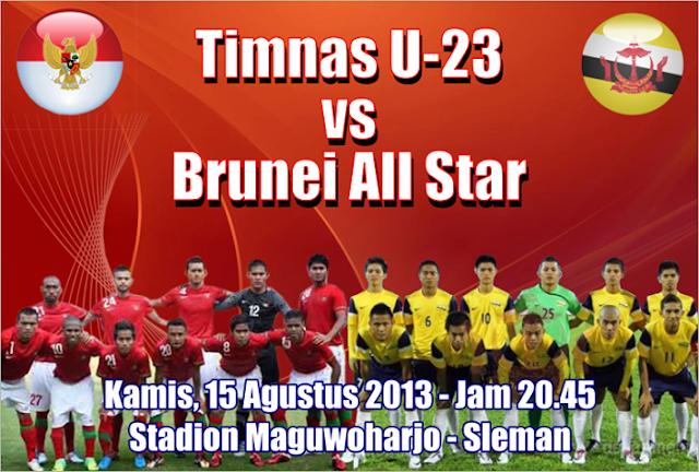 Prediksi Skor Line Up Timnas Indonesia U23 Vs Brunei All