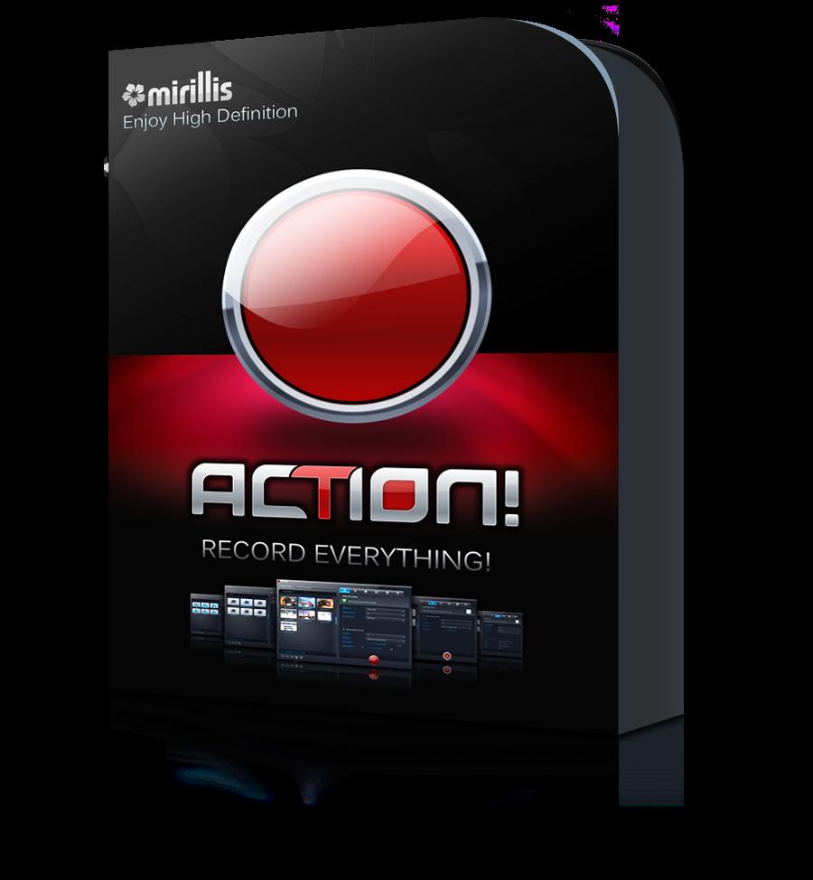 mirillis action 1.30 serial key