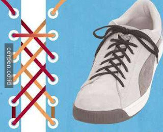 Cara Mengikat Tali Sepatu Terbalik