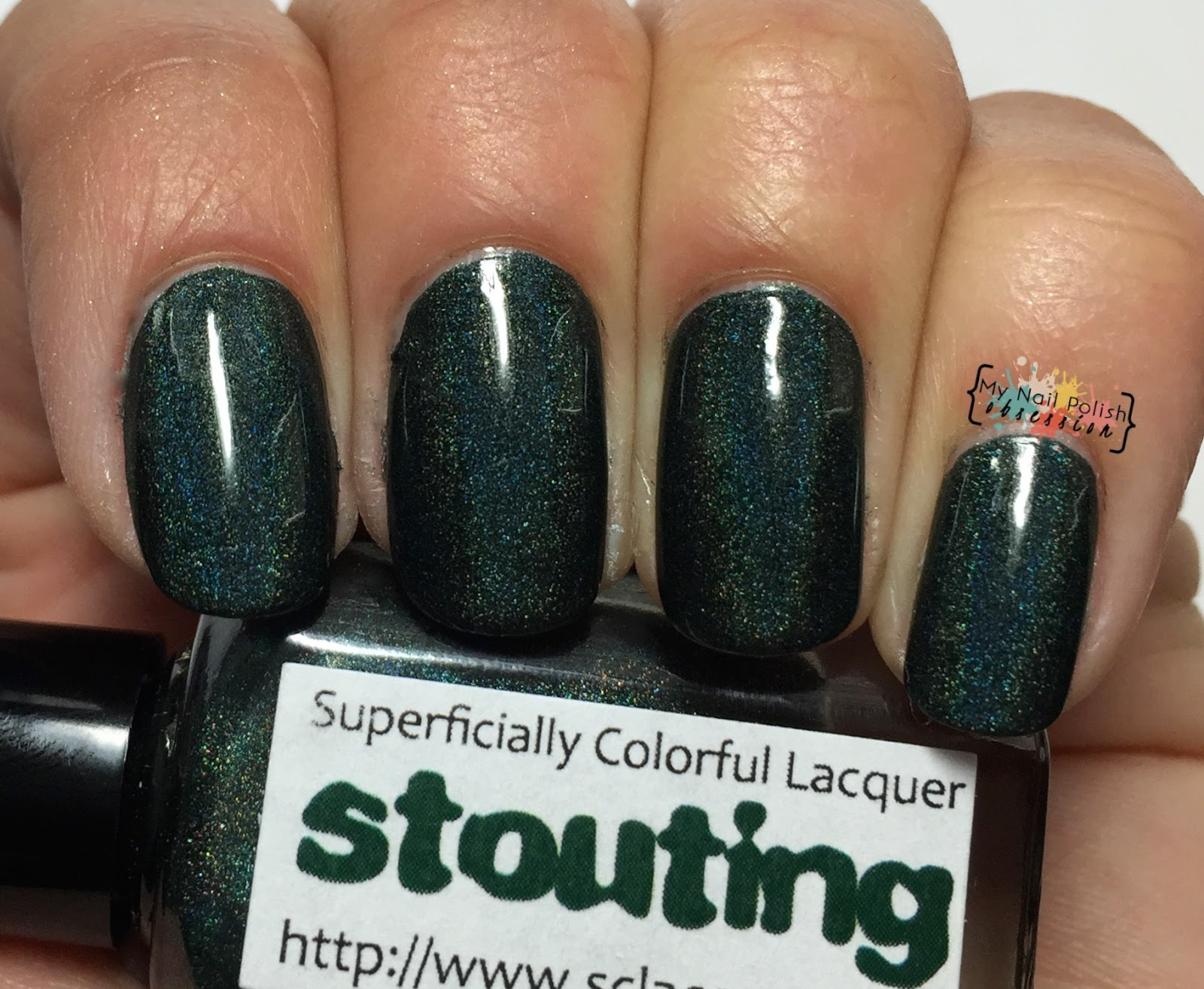 Superficially Colorful Lacquer Stouting