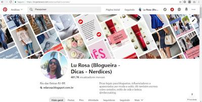 Como fazer perfil no Pinterest