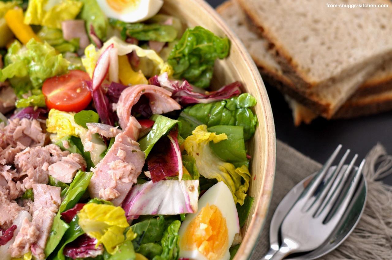 wir retten heute klassische salate marinaden from snuggs kitchen. Black Bedroom Furniture Sets. Home Design Ideas