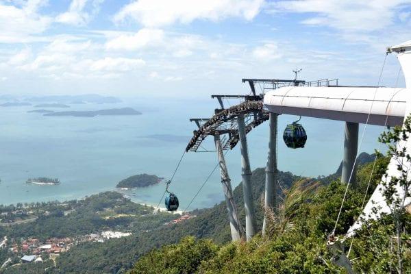 SkyCab (Cable Car) Tarikan Utama Pulau Langkawi, Kedah | Booking Tiket di Tripcarte.Asia!